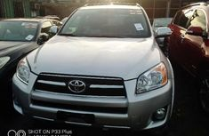 Foreign Used Toyota RAV4 2011 Model Silver