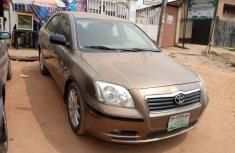 Nigeria Used Toyota Avensis 2007 Model Gold