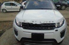 Nigeria Used Land Rover Range Rover Evoque 2013 Model White