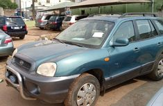 Foreign Used Hyundai Santa Fe 2006 Model Green