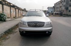 Foreign Used Infiniti FX 2004 Model Silver