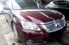 Foreign Used Toyota Avalon 2006 Model Red