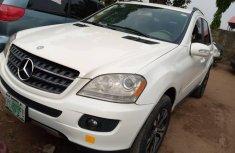 Nigeria Used Mercedes-Benz ML350 2009 Model White
