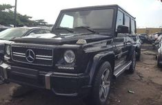 Foreign Used Mercedes-Benz G63 2014 Model Black