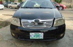 Nigeria Used Toyota Corolla 2005 Model Black