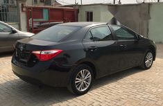 Foreign Used Toyota Corolla 2014 Model Black