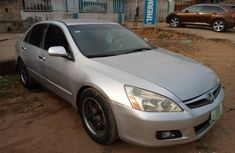 Locally Used 2004 Silver Honda Accord for sale in Lagos