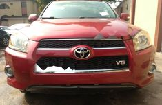 Foreign Used Toyota RAV4 2009 Model Red
