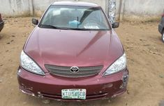 Locally Used 2004 Red Toyota Camry for sale in Lagos