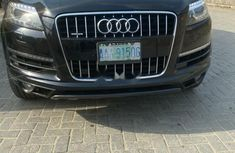 Nigeria Used Audi Q7 2014 Model Black