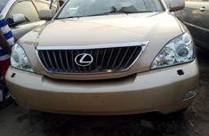 Foreign Used Lexus RX 2008 Model Gold