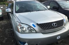 Foreign Used Lexus RX 2005 Model Silver