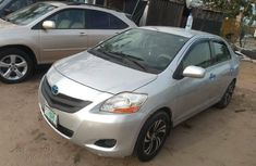 Nigeria Used Toyota Yaris 2007 Model Silver