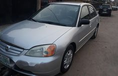 Nigeria Used Honda Civic 2002 Model Silver