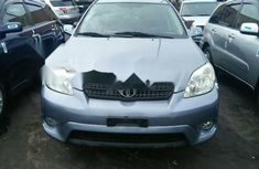 Foreign Used Toyota Matrix 2005 Model Blue