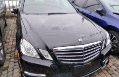 Tokunbo Mercedes-Benz E350 2013 Model Black