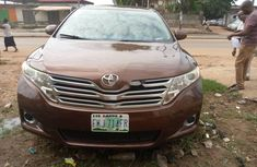 Nigeria Used Toyota Venza 2011 Model Brown