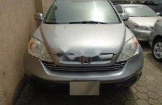Nigeria Used Honda CR-V 2008 Model Silver
