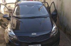 Nigeria Used Kia Rio 2014 Model Black