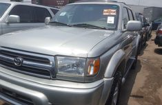 Foreign Used Toyota 4-Runner 2000 Model Silver