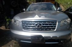 Foreign Used Infiniti FX 2008 Model Silver