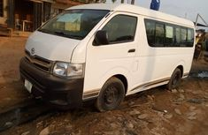 Nigeria Used Toyota HiAce 2007 Model White