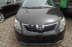 Foreign Used Toyota Avensis 2012 Model Black