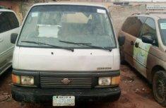 Nigeria Used Nissan Urvan 1998 Model Silver