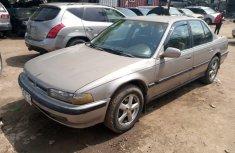 Nigeria Used Honda Accord 1997 Model Gold