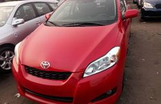 Foreign Used Toyota Matrix 2010 Model Red