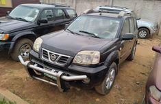 Locally Used 2002 Black Nissan X-Trail for sale in Lagos.