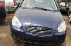 Nigeria Used Hyundai Accent 2008 Model Blue