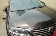 Foreign Used Lexus RX 2012 Model Gray
