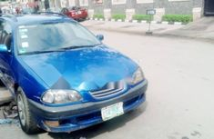 Nigeria Used Toyota Avensis 2003 Model Blue