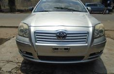 Nigeria Used Toyota Avensis 2004 Model Silver