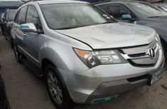 Foreign Used Honda Acura MDX 2008 Model Silver