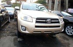 Foreign Used Toyota RAV4 2010 Model Gold