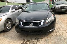 Nigeria Used Honda Accord 2009 Model Black