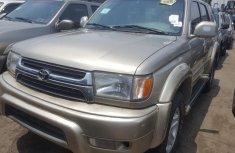 Foreign Used Toyota 4-Runner 2002 Model Gold