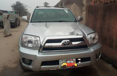 Nigeria Used Toyota 4-Runner 2007 Model Silver