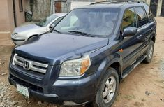 Nigeria Used Honda Pilot 2006 Model Gray