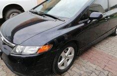 Nigeria Used Honda Civic 2008 Model Black