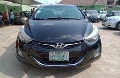 Nigeria Used Hyundai Elantra 2012 Model Black