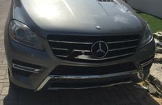 Foreign Used Mercedes-Benz ML350 2015 Model Silver