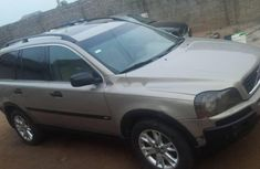 Nigeria Used Volvo XC90 2003 Model Silver