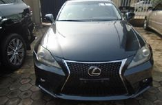 Foreign Used Lexus IS 2010 Model Gray