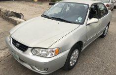 Nigeria Used Toyota Corolla 2001 Model Silver
