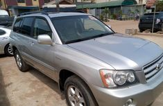 Foreign Used Toyota Highlander 2001 Model Silver