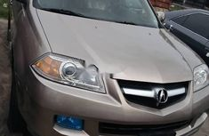 Foreign Used Acura MDX 2006 Model Gold