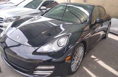 Foreign Used Porsche Panamera 2011 Model Black